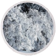 Heavy Frost Round Beach Towel