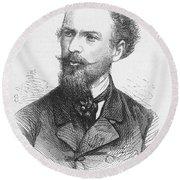 Henri Mouhot (1826-1861) Round Beach Towel
