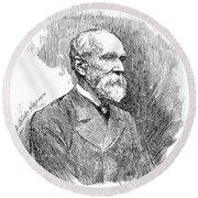 Henry Yule (1820-1880) Round Beach Towel