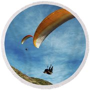 High Flyers Round Beach Towel