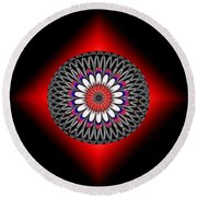 Hoberman Sphere Round Beach Towel