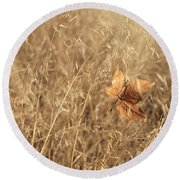 Hold Me Tenderly Round Beach Towel