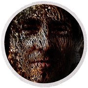 Hollowman Round Beach Towel