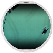 Home Sweet Home Round Beach Towel