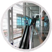 Hong Kong Convention And Exhibition Centre Round Beach Towel