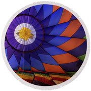 Hot Air Balloon 13 Round Beach Towel