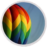 Hot Air Balloon 3 Round Beach Towel