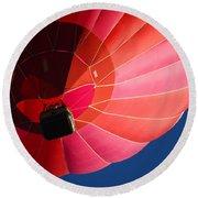 Hot Air Balloon 4 Round Beach Towel
