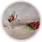 Hot Delivery 02 Round Beach Towel