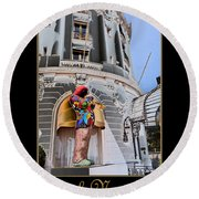 Hotel Negresco France Round Beach Towel