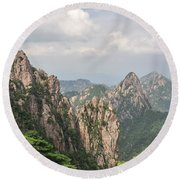 Huangshan Granite 1 Round Beach Towel