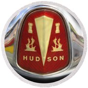 Hudson Grill Ornament  Round Beach Towel