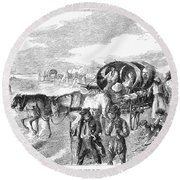 Hungarian Gypsies, 1874 Round Beach Towel
