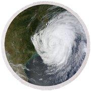 Hurricane Isaac Makes Its Second Round Beach Towel