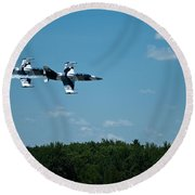I 39 Fighter Jets Round Beach Towel