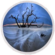 I Would Go To The Ends Of The Earth For You Round Beach Towel