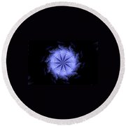 Ice Wheel Round Beach Towel