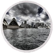 Iconic Landmark V2 Round Beach Towel