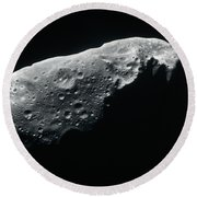 Image Of An Asteroid Round Beach Towel