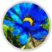 In The Light Revisited Round Beach Towel