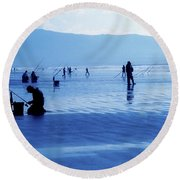 Inch Beach, Dingle Peninsula, County Round Beach Towel