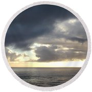 Indian Ocean 3 Round Beach Towel