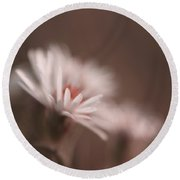 Innocence - 05-01a Round Beach Towel by Variance Collections