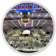 Inside The Palace Of Auburn Hills 2 Round Beach Towel