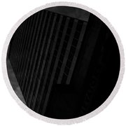 Integrated Elevation  Round Beach Towel