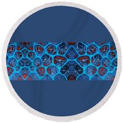 Internal Vision Design Round Beach Towel