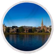 Inverness Waterfront Round Beach Towel