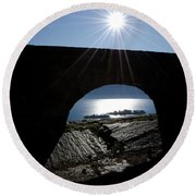 Islands Watched From An Arch Round Beach Towel