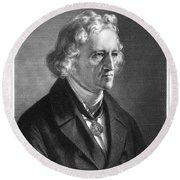 Jacob Grimm (1785-1863) Round Beach Towel