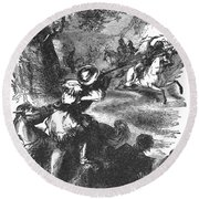 James Bowie (1796-1836) Round Beach Towel