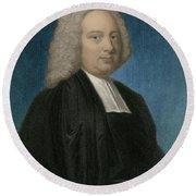 James Bradley, English Astronomer Round Beach Towel