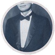James Bryant Conant, American Chemist Round Beach Towel