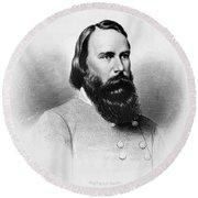 James Longstreet (1821-1904) Round Beach Towel