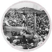 Jess Willard (1883-1968) Round Beach Towel
