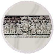 Jesus & Apostles Round Beach Towel