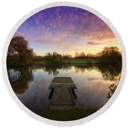 Jetty Sunrise 4.0 Round Beach Towel