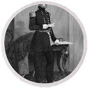 John Ellis Wool (1784-1869) Round Beach Towel