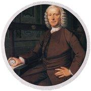 John Harrison, English Inventor Round Beach Towel by Photo Researchers