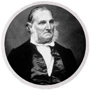 John James Audubon, French-american Round Beach Towel