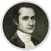 John Jay, American Founding Father Round Beach Towel by Photo Researchers