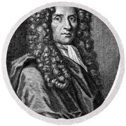 John Locke, English Philosopher, Father Round Beach Towel by Science Source