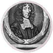 John Mayow (1640-1679) Round Beach Towel