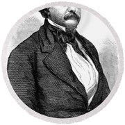 John Van Buren (1810-1866) Round Beach Towel