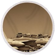 Joint Operations Squadron  Round Beach Towel
