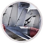 Joint Operations Squadron V5 Round Beach Towel