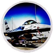 Joint Operations V2 Round Beach Towel
